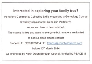Family Tree Course March 2014